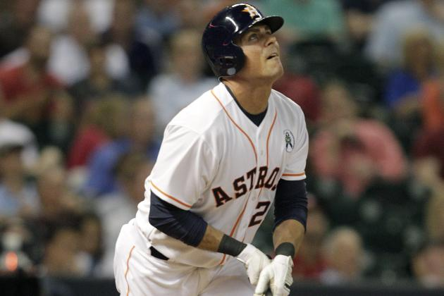Maxwell, Ankiel Power Astros to 8-2 Win in American League Debut