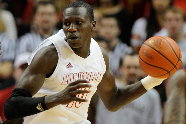 Final Four 2013: Head-to-Toe Breakdown of Louisville's Gorgui Dieng