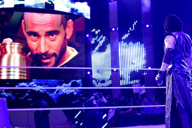 CM Punk Must Prove That He Can Compete with the Undertaker Before WrestleMania