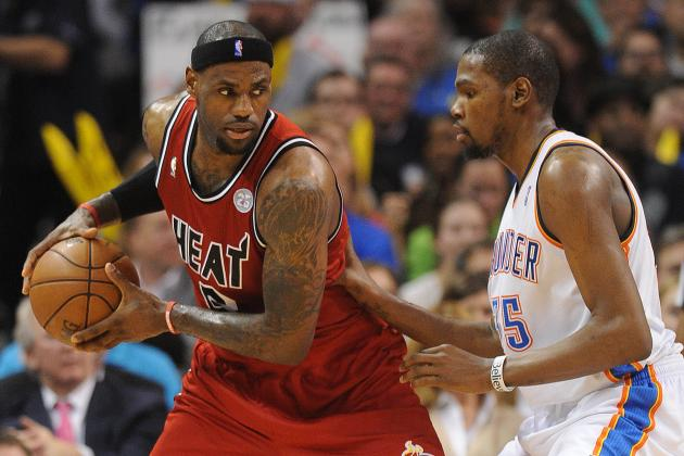 Kevin Durant and LeBron James Are More Alike Than You Think