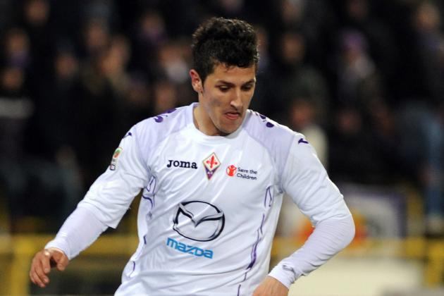 Jovetic to Miss Fiorentina-Milan