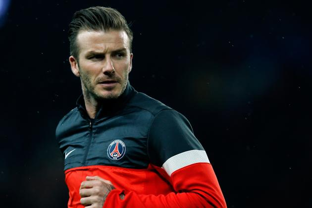 PSG Chairman Planning to Hold Contract Talks with David Beckham