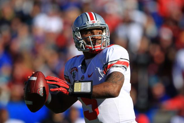 Braxton Miller Becoming an Elite Athlete for Ohio State's Football Team