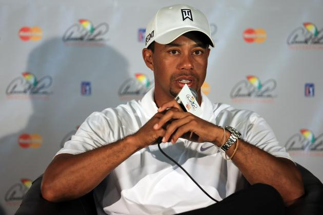 The Masters: Tiger Woods' Augusta Odds Keep Dropping