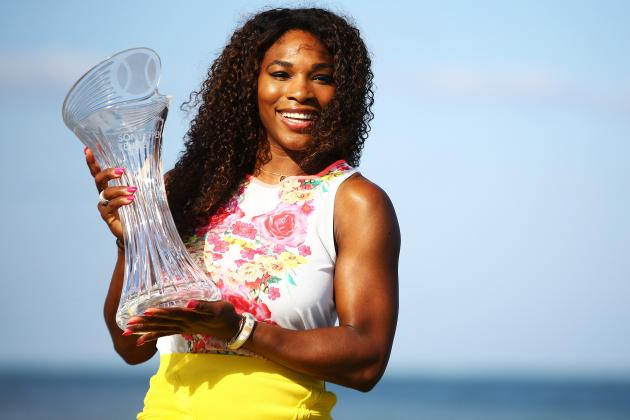 Serena After Sixth Miami Title: 'I Finally Have Some Record'