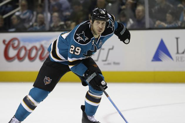 NHL Trade Rumors 2013: Latest on Ryane Clowe, Frans Nielsen and League Buzz
