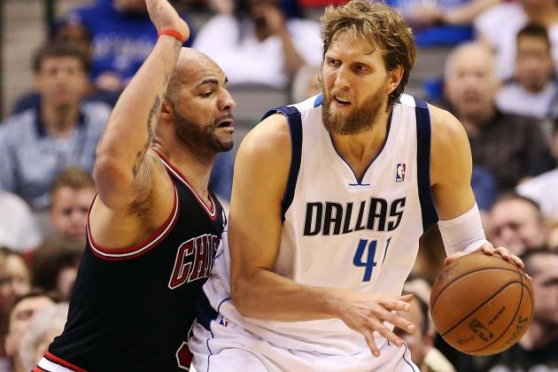 Playoff Form? Dirk: 'I'm Just Feeling Good Again'