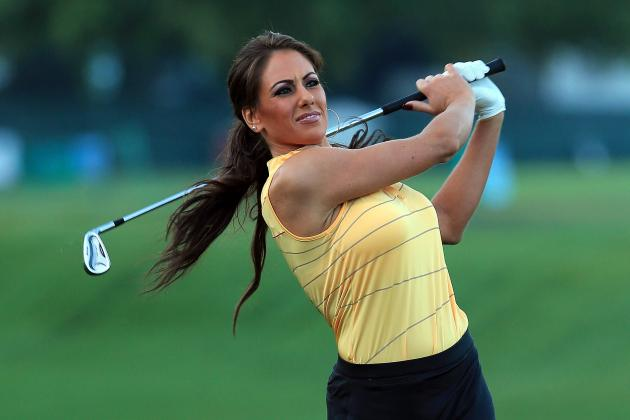 Holly Sonders Fit and Photogenic on Golf Digest Cover