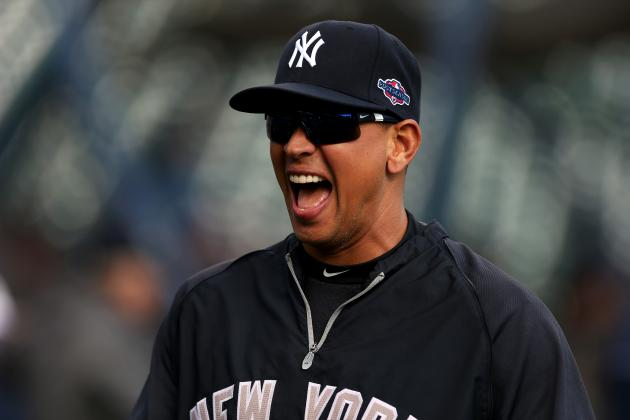 Upbeat A-Rod Makes Opening Day Appearance