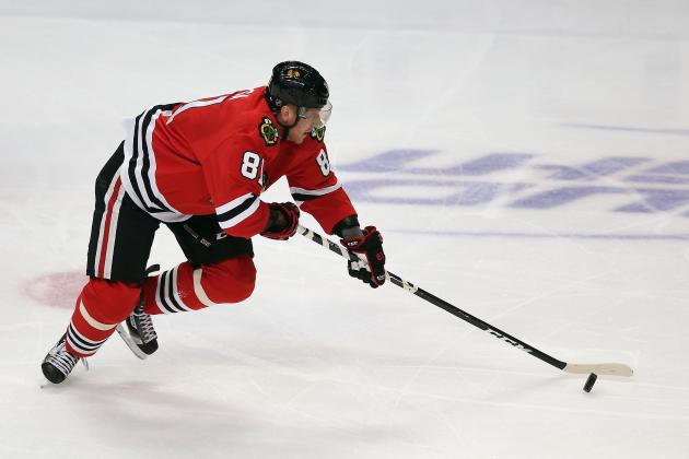 Sharp, Hossa Out Against Predators While Crawford Gets the Start