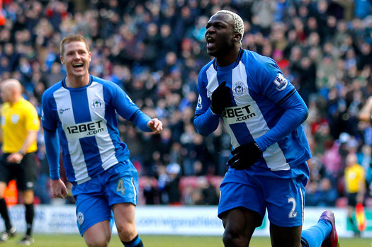 Wigan's Emmerson Boyce Salutes the Efforts of In-Form Arouna Kone