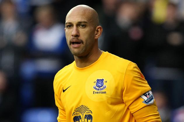 Everton Goalkeeper Tim Howard Still Targeting Champions League Qualification