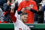 Bryce Harper Makes History, Homers in 1st Two ABs