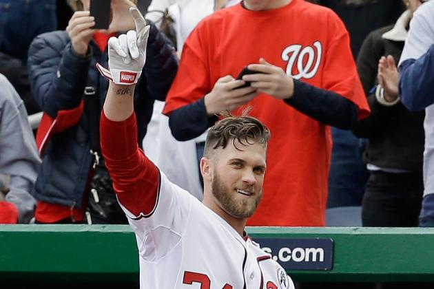 Bryce Makes History, Homers in 1st Two ABs of Season