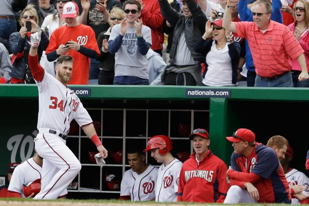 Washington Nationals: Bryce Harper Goes Yard Twice on Opening Day