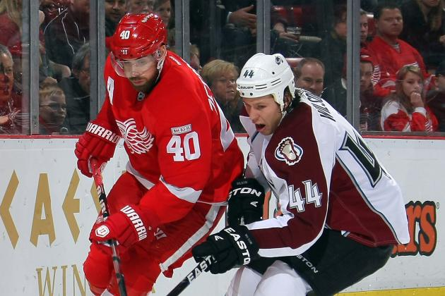 Red Wings Aim to Shake Ugly Loss Tonight vs. Avs