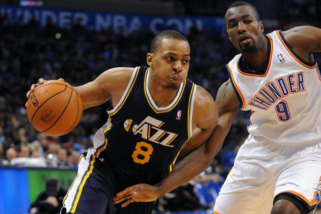 Utah Jazz: Boo D-Will? Randy Foye Gives Jazz Fans Plenty to Cheer About