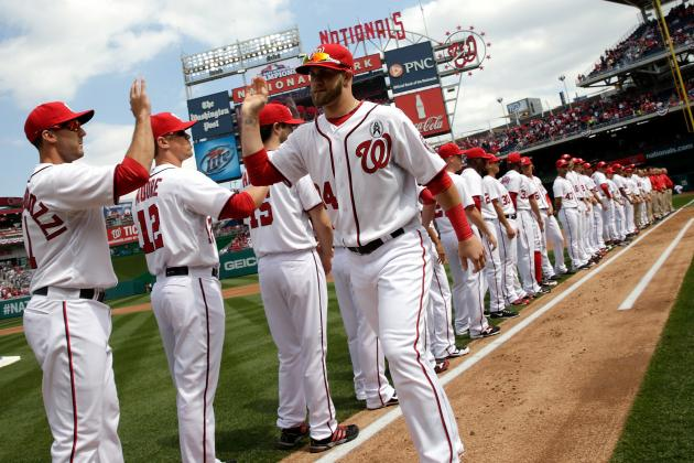 Bryce Harper, Stephen Strasburg Shine for Washington Nationals on Opening Day