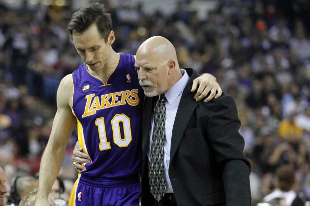 Steve Nash Doubtful for Tues. vs. Mavs