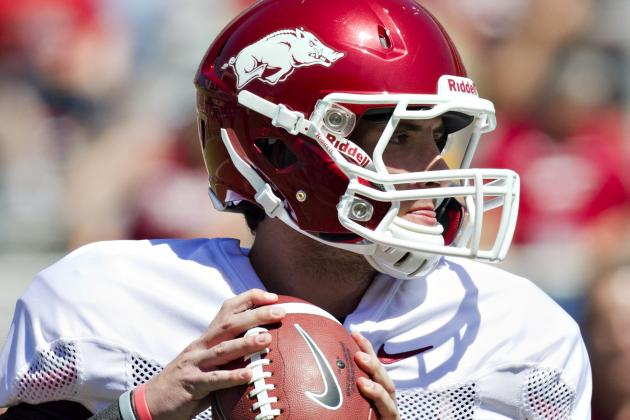 Unofficial Statistics from the Razorback's Scrimmage