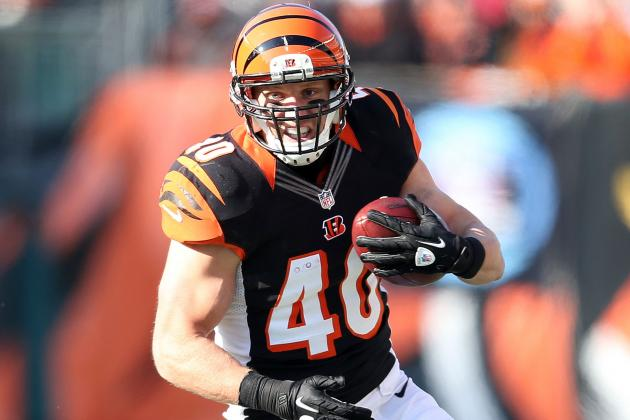 Brian Leonard Agrees to 1-Year Deal with Bucs