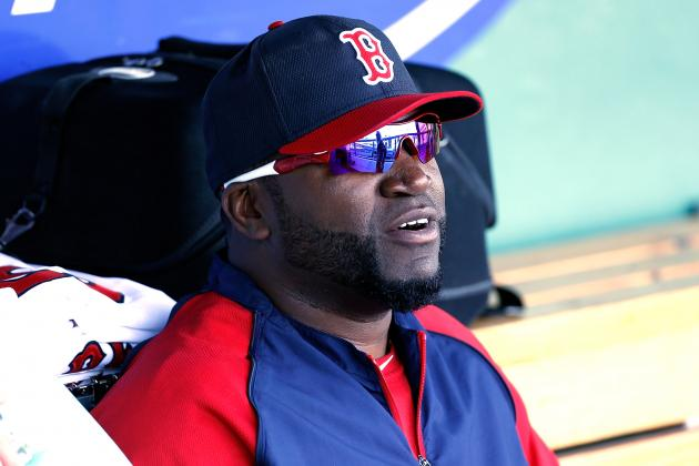 Injured Red Sox DH Ortiz Says Heels Are Improving