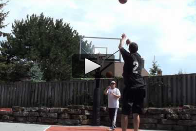 Watch Sharpshooter Nik Stauskas Make 102 Three Pointers in 5 Minutes