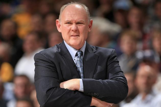 George Karl Wins Coach of the Month
