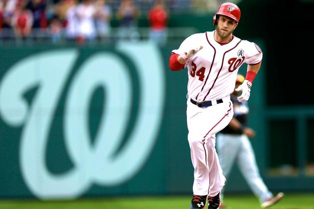 Bryce Harper's 2-Home Run Opening Day Just the Beginning of His 2013 MVP Season