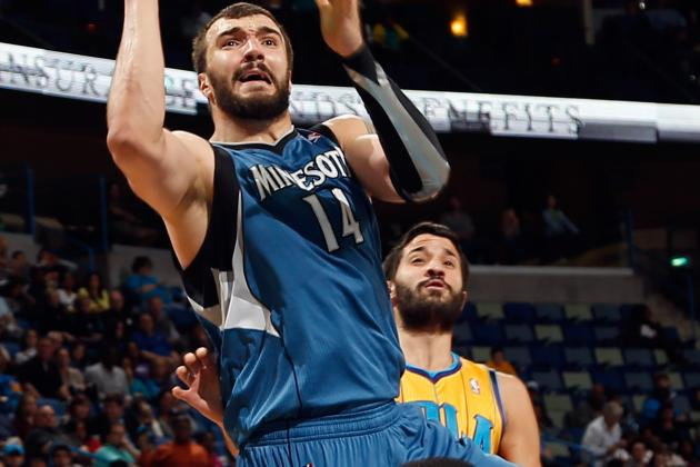 Pekovic (Ankle) Returns to Lineup Tonight