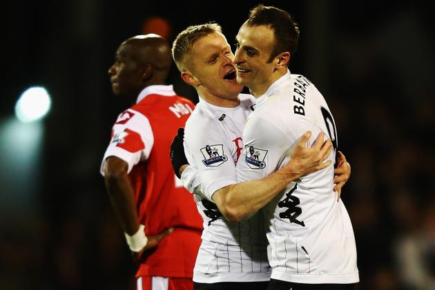 Fulham Striker Dimitar Berbatov Unconcerned by QPR Fightback