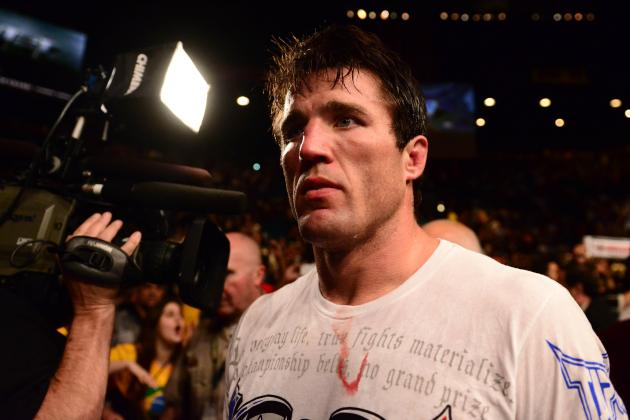 Chael Sonnen: Jones Will Be on His Back Making out with My Fists for 25 Minutes