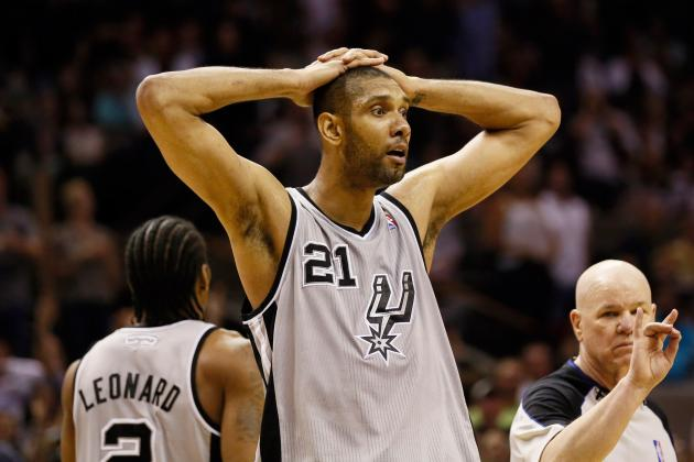 What Tim Duncan Shows Off the Court