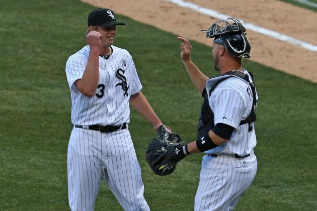 Flowers' Homer Enough to Boost White Sox