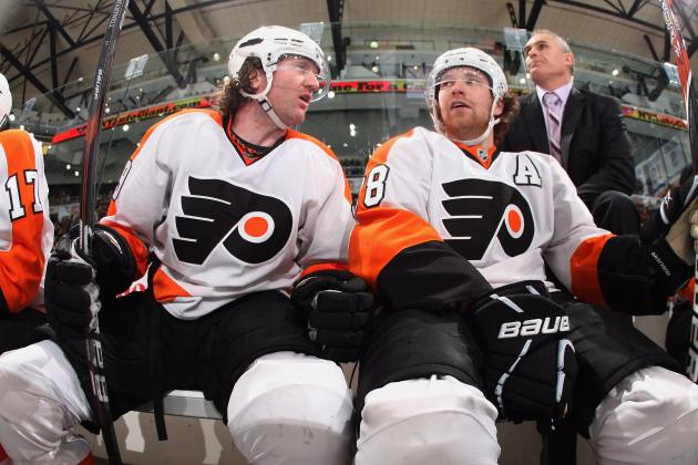 Scott Hartnell, Claude Giroux Pull April Fools' Prank