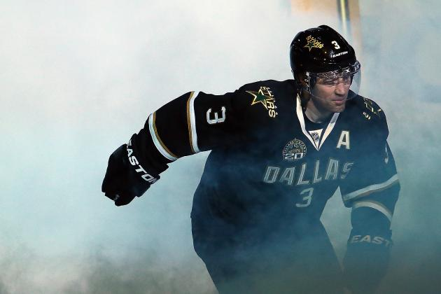 NHL Trade Deadline 2013: Leafs Possibly Interested in Stars' Stephane Robidas?