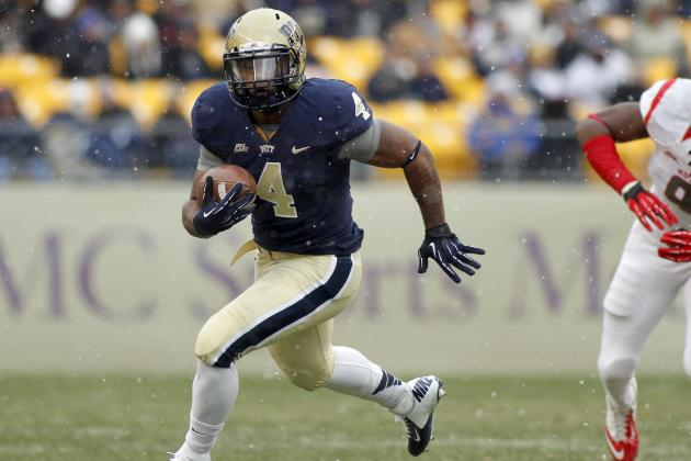 Pitt Running Back Shell to Transfer