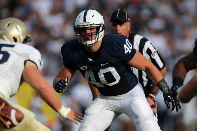 Penn State Football: Nittany Lions Face Major Depth Issues at LB in 2013