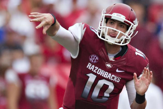 Bielema Says Brandon Allen Has the Early Edge to Succeed Tyler Wilson