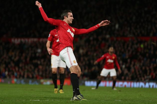 Analyzing How Robin Van Persie Has Scored His Goals for Manchester United