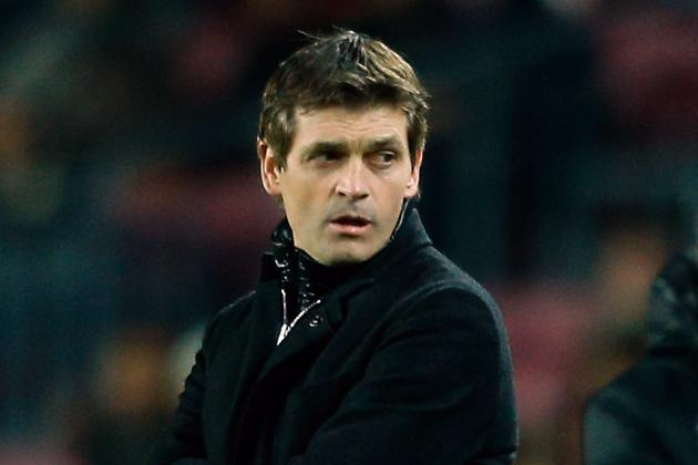 Vilanova on the Bench Tonight