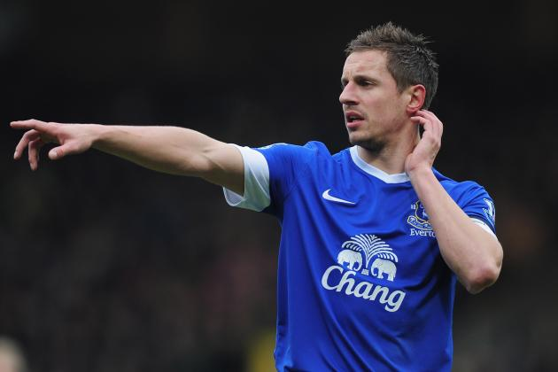 Premier League: Evertons Phil Jagielka to Play Through Pain Barrier