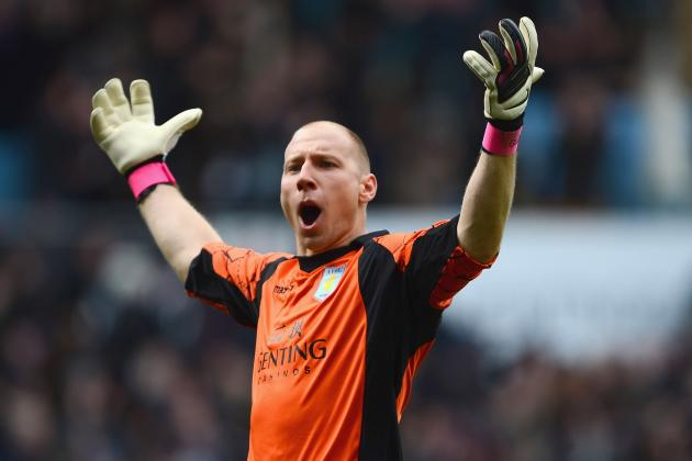 Brad Guzan Says Aston Villa Not Paying Too Much Attention to Table