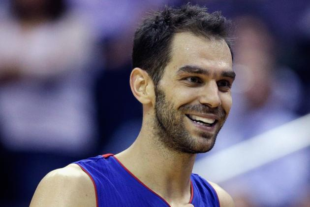 Detroit Pistons' Jose Calderon Calls Victory in Toronto One of Career Highlights