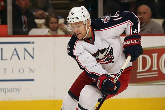 Report: Blue Jackets Sign Letestu to 2-Year Extension