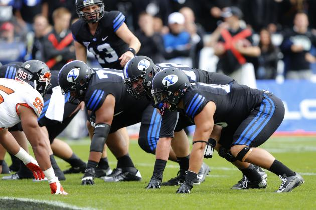 Offensive Line Starting to Take Shape