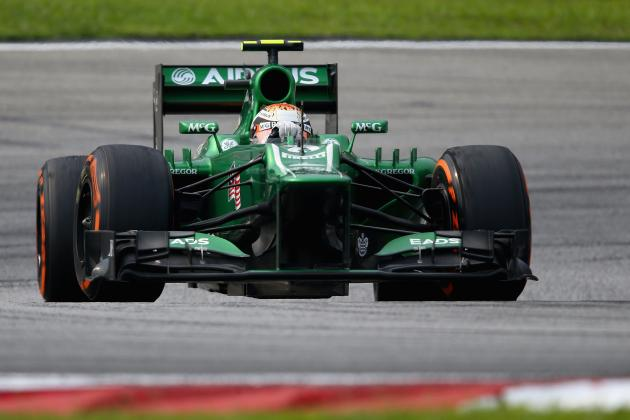 Formula 1 2013 Progress Report: Caterham