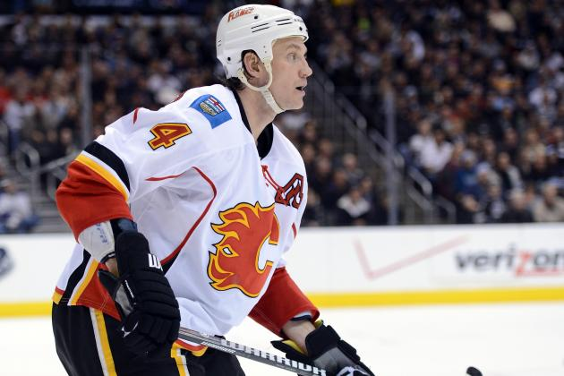 NHL Trade Deadline: Why the Calgary Flames Didn't Get More for Jay Bouwmeester