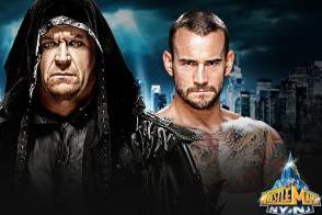 The Undertaker Versus CM Punk at WrestleMania 29 Tale of the Tape