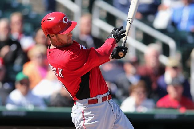 Reds' Ludwick Injures Shoulder
